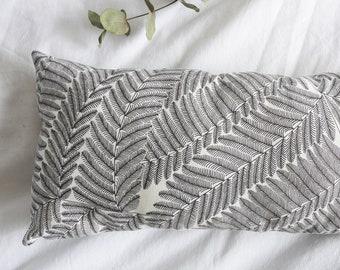 "Cushion headrest ""Fern"" pattern"