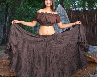 e14bb26d81 25 Yard Professional Tribal Belly Dancing Skirt
