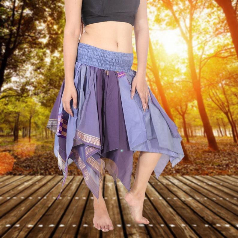 10 Pcs Diamond Style African Urban Tribal Skirts Random Assorted Color