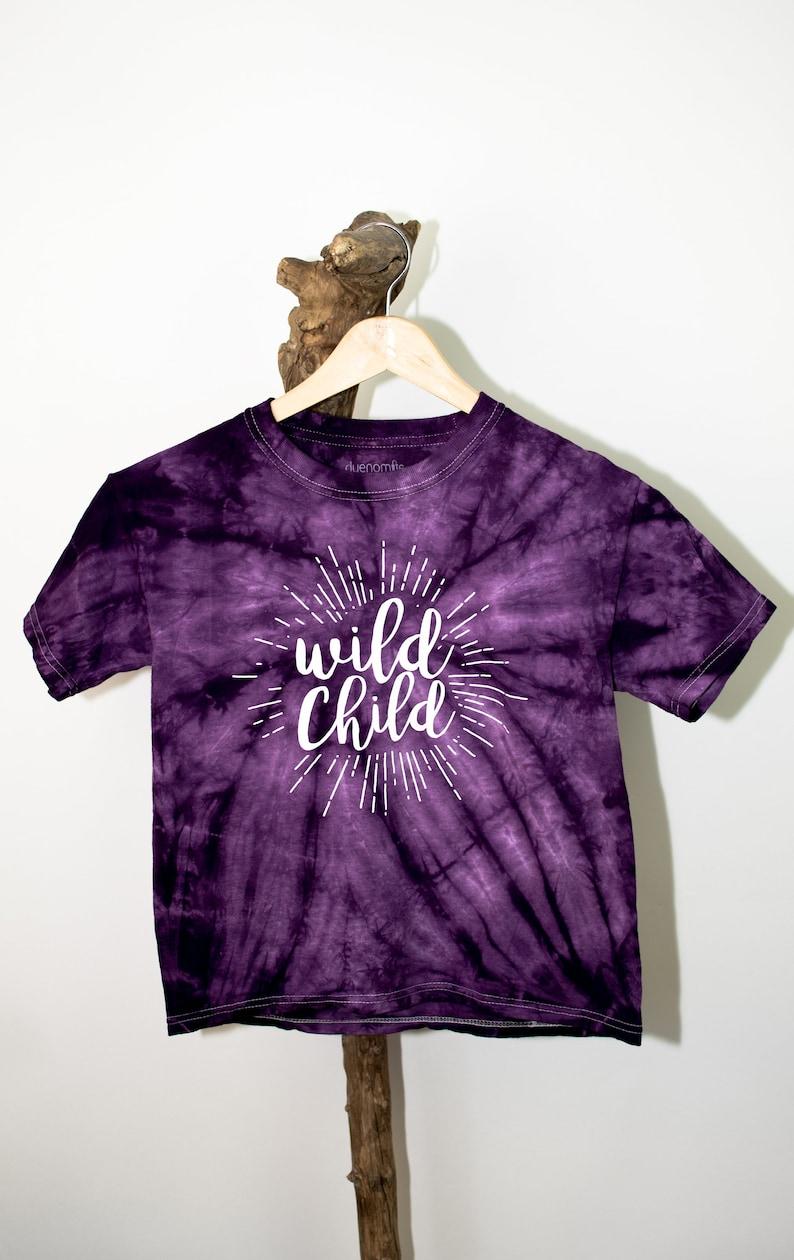 WÜDLING Kids-Batik T-shirt wild child image 0