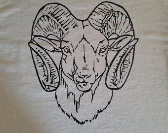 Big Horn Sheep (Back) with Colorado (Front) plus a left chest pocket