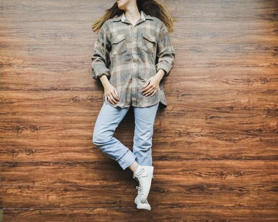 Woolrich Brown Plaid Shirt-Jac
