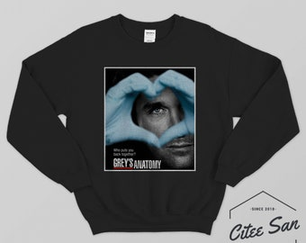 Greys Anatomy Sweatshirt Etsy
