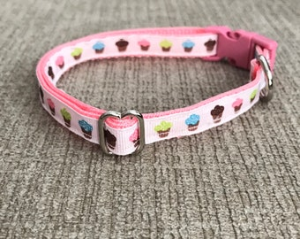 Cupcake Dog/Cat collar