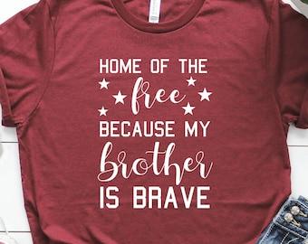 089957d2 Military Sister Shirt | Marine Sister | Air Force Sister | Navy Sister | Army  Sister | Military Life | Military Family Shirt | Freedom Shirt