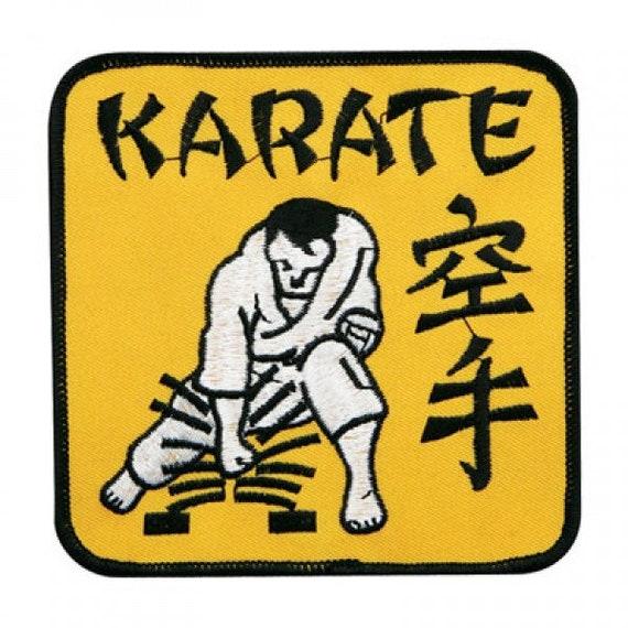 Vintage 1970/'s Shotokan Karate Do MMA Martial Arts Uniform Gi Patch Crest 413