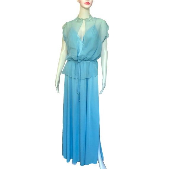 1970s EVENING GOWN S   Etsy