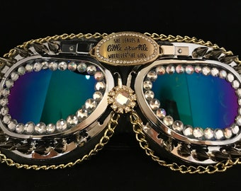 Perfect For Burning Man, Festival Goggles, Dust Goggles