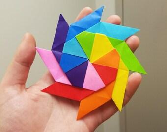 Origami Fidget Star