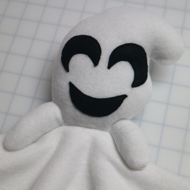 Halloween Birthday Gift Security Blanket The Happy Friendly Ghost