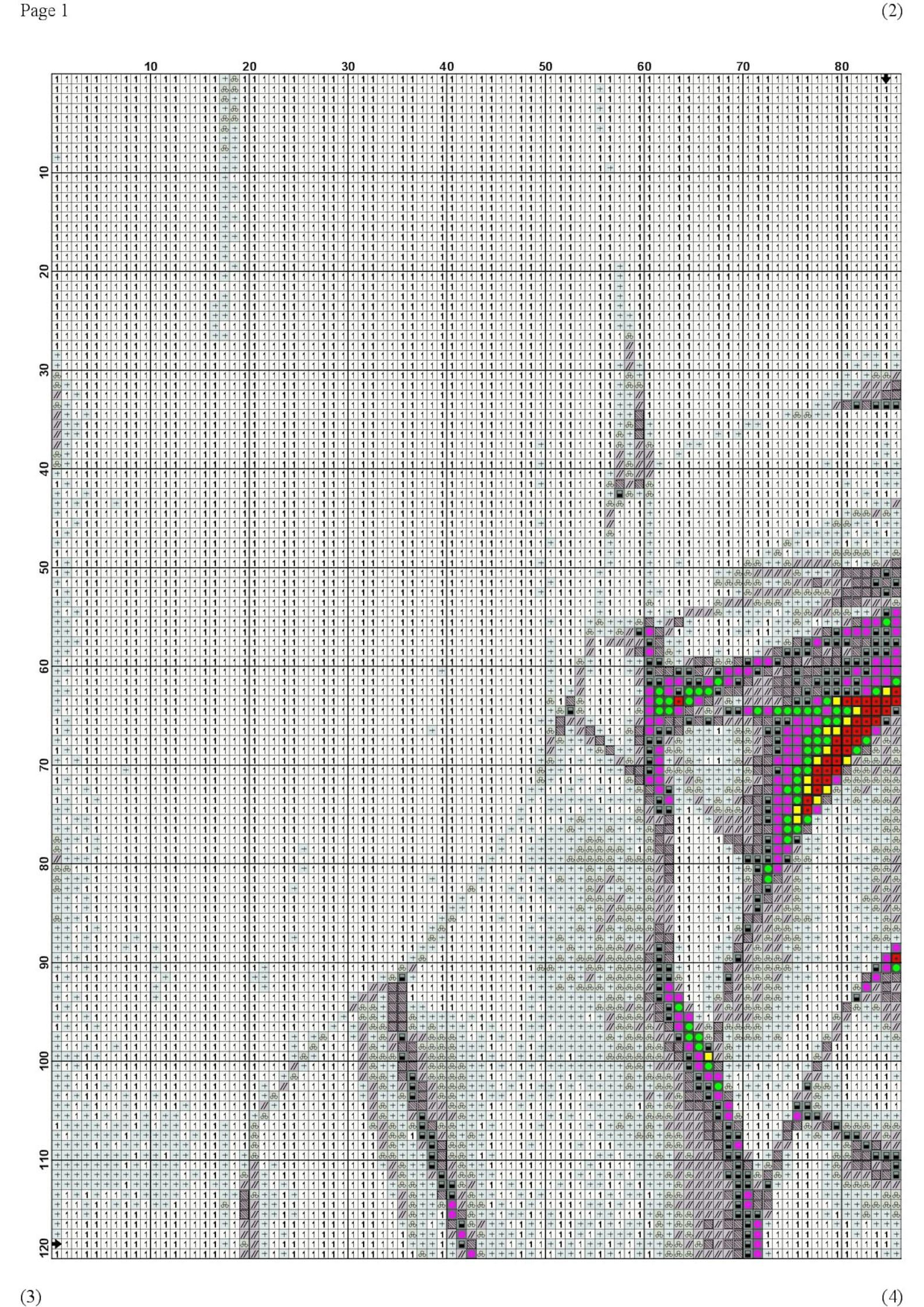 ballet shoes pointe cross stitch pattern - counted cross stitch pattern - hand embroidery - modern pattern - pdf file