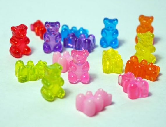 Simple Gummy Bear Dustplug Charm