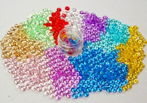 Fishbowl Beads Crunchy Slime Beads 11 Colors Fishbowl Beads In Etsy