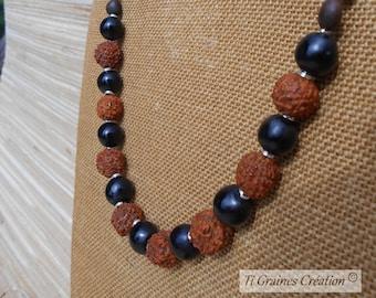 Nomad Tropical necklace / / Shiva
