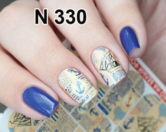 letter nail stickers etsy