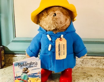 Vintage Paddington Bear and pop-up book