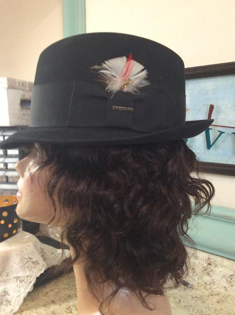 cae41e2fc1b Hat Vintage Stetson sovereign womens fedora hat