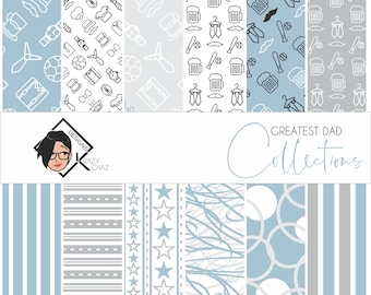 Great Dad - Collection of 12 patterns