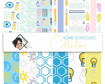 School @ Home - Collection of 12 patterns