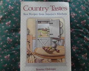 Country Tastes Cookbook