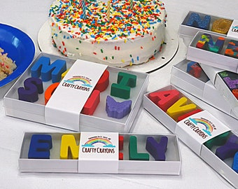 Free Shipping Name Crayons - Personalized Kids Letter Crayons