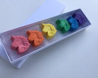 Unicorn Crayons: Unicorns for coloring