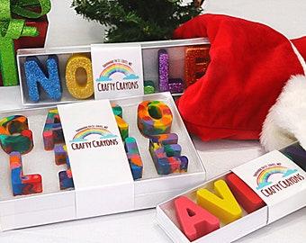 Christmas Name Crayons