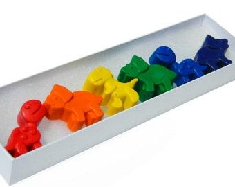 Dinosaur Crayons: Rainbow Crayons-Dinosaurs for Coloring