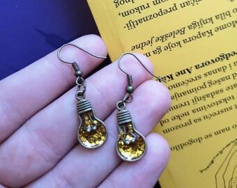 d6d2f1bfb6aeb Light bulb earrings | Etsy