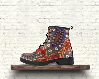 Mandala Boots - Star Design