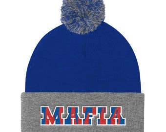 Bills Mafia - Pom Knit Cap f90502c1f