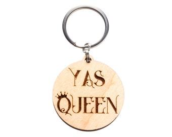 Yas Queen Keychain