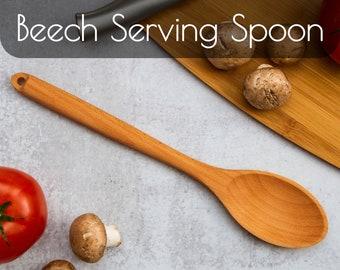 Potluck Serving Spoons   Wooden Spoon   Wooden Cooking Spoon   Kitchen Utensils   Kitchen Decor   Serving Spoons