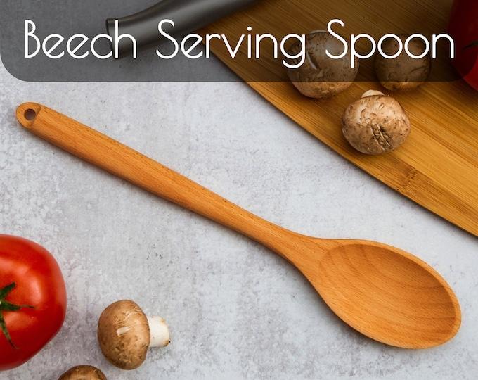 Potluck Serving Spoons | Wooden Spoon | Wooden Cooking Spoon | Kitchen Utensils | Kitchen Decor | Serving Spoons