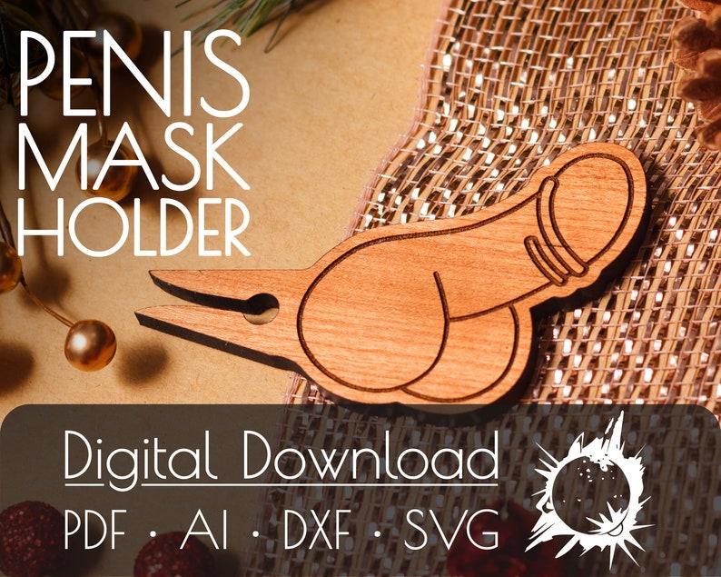 Penis Maske Clip Kommerzielle Lizenz Digitaler Download | Etsy