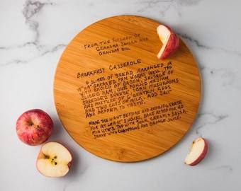 Personalized Cutting Board   Custom Cutting Board   Family Recipe Cutting Board   Kitchen Tools   Kitchen Decor   Wedding Gift