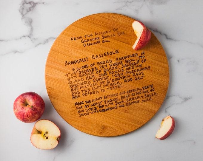 Personalized Cutting Board | Custom Cutting Board | Family Recipe Cutting Board | Kitchen Tools | Kitchen Decor | Wedding Gift