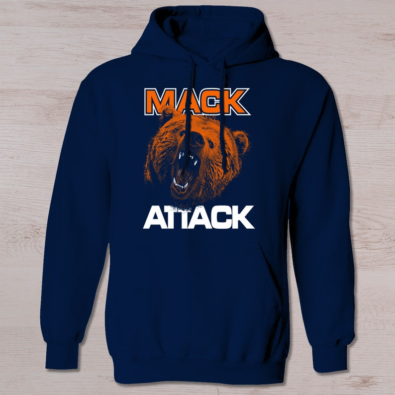 san francisco 5a700 365ac Chicago Bears, Inspired Mack Hoodie, Mack, Bears t shirt, Football,