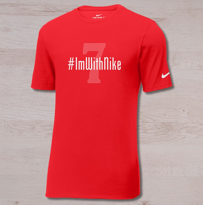 41034e140 Colin Kaepernick Shirts I'm With Nike I'm With Kap | Etsy