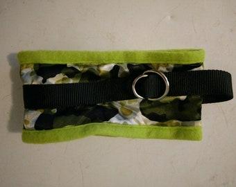 Green Camo Coat Saver Collar
