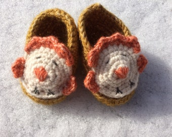 Baby Booties - Ma Poulette