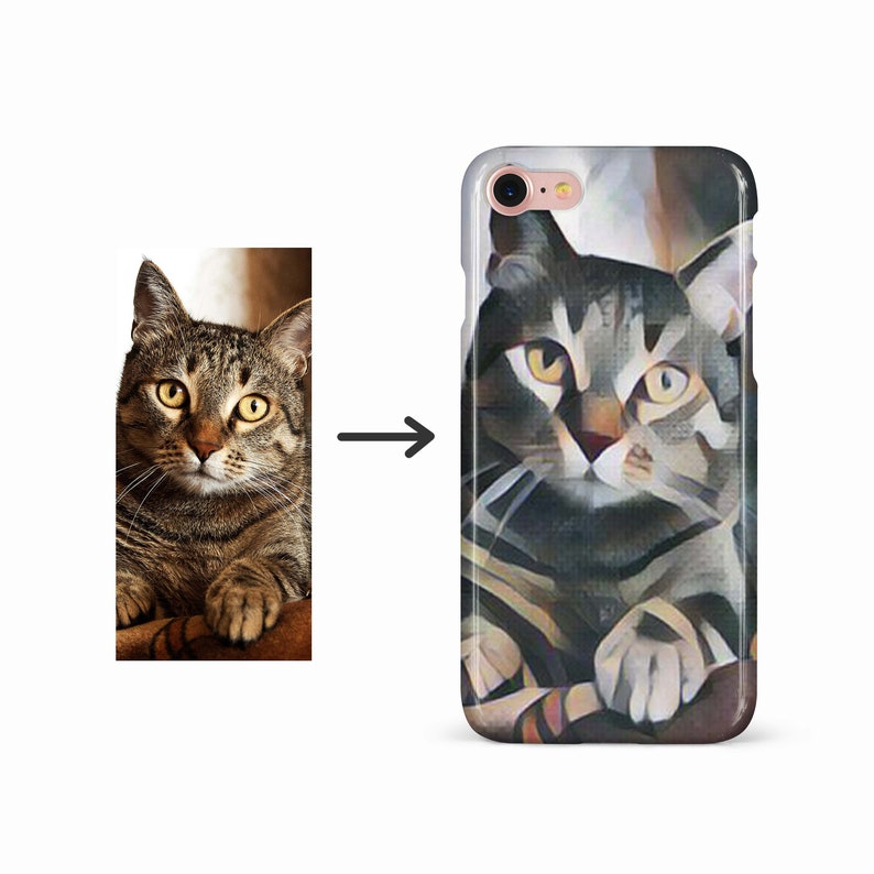 d90134a7 Photo to Custom Phone Case Cubism Art personalized phone   Etsy