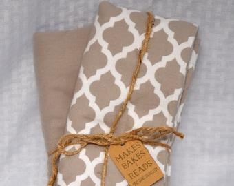 Flannel Receiving Blankets (2-pack)