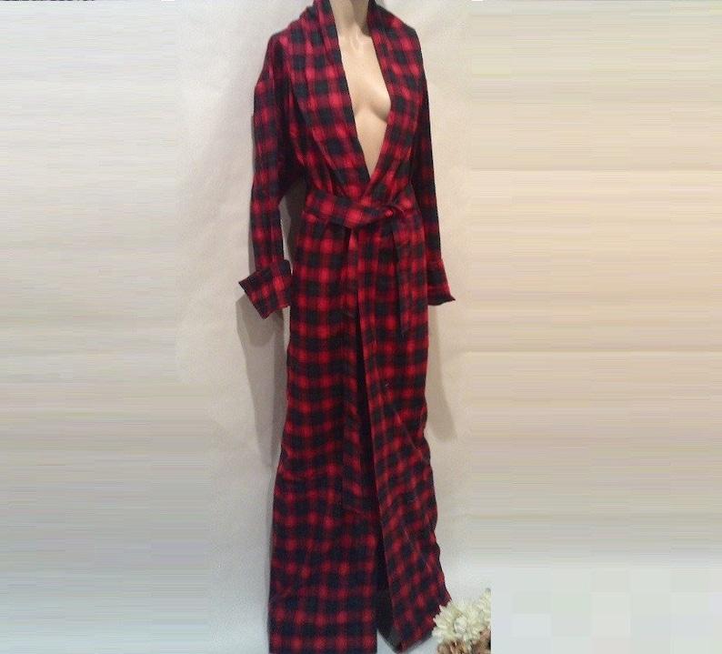 26a98e9e5c NIKKOLE. Flannel Robe Kimono Robe Kimono Bridesmaid Robe
