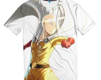 One Punch Man Anime T-shirt, Men's Women's All Sizes