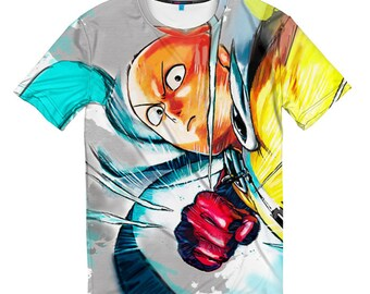 One Punch Man Original T-shirt, Men's Women's All Sizes