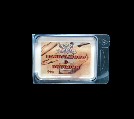 Fight Scrub, Sandalwood & Bourbon