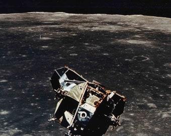 Saturn Apollo Program photography, Space photography, Wonderful gift, Photo print