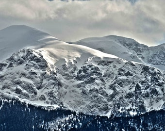 Landscape photography, Mountains photography, Wonderful gift, Photo print