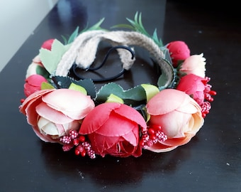 Flowery Hair Accessory for Women,Brides,Girls Who would like to be the most beatiful,Elegant,Wedding,For Bride,Summer,2018,Party,Birthday
